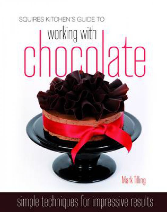 Squires Kitchen\'s Guide to Working with Chocolate (hardback)
