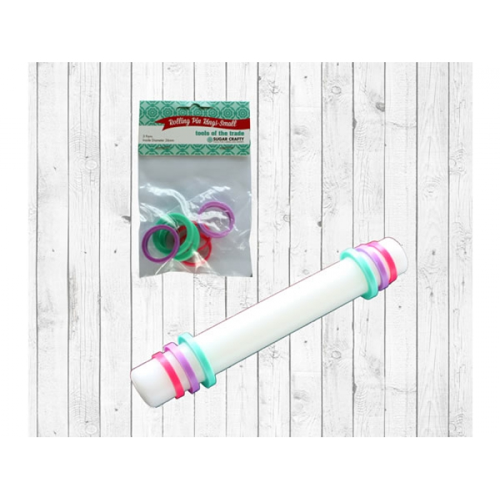 Sugar Crafty Rolling Pin Rings - SMALL