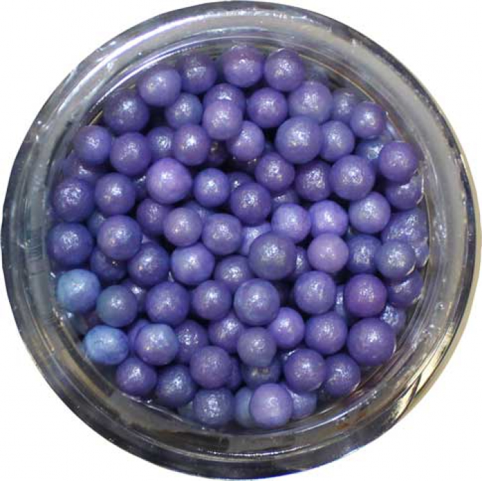 SUGAR PEARLS 3 - 4mm - Purple - 113g Bottle