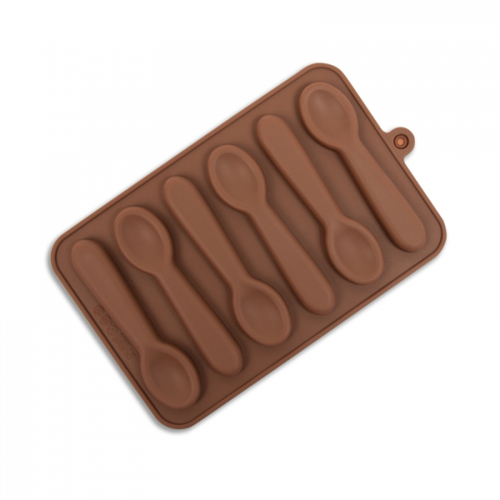 Teaspoon Silicone Mould for Chocolate (6)