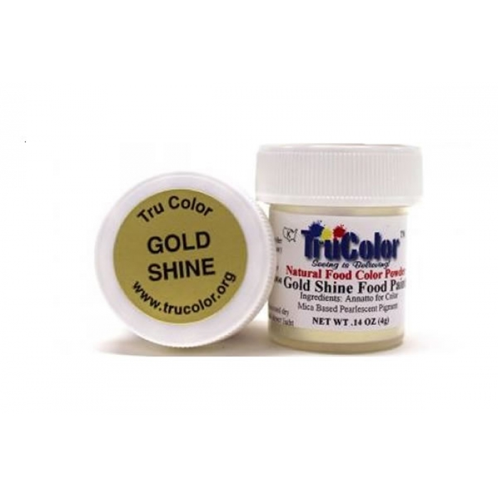 TruColor™ Gold Shine Food Paint 6g