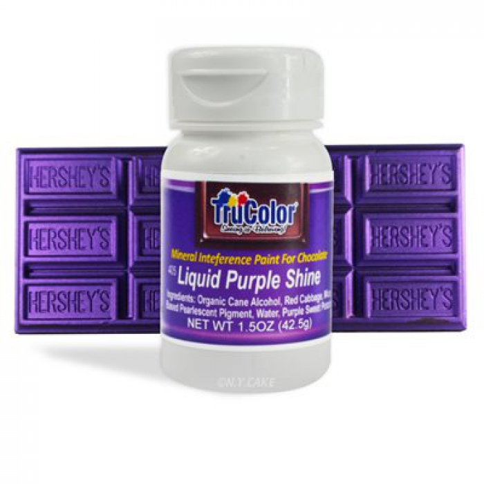 TruColor™ Liquid Purple Shine Airbrush for Chocolate & Fondant 42.5g
