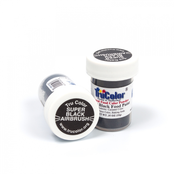 TruColor™ Natural Airbrush Paint Super Black 10g