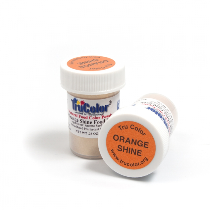 TruColor™ Natural Orange Shine Food Paint 7g