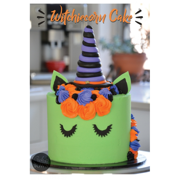 Tutorial - Video Tutorial WitchieCorn Cake