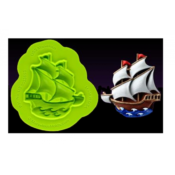 USS Marvellous Ship Mould - DISCONTINUED